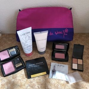 Lancome  Cosmetic Bag with Various Products NWOT